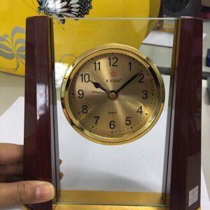 Biểu trưng Pha lê gắn đồng hồ - BTPLĐH 024