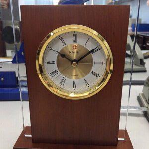 Biểu trưng Pha lê gắn đồng hồ - BTPLĐH 025