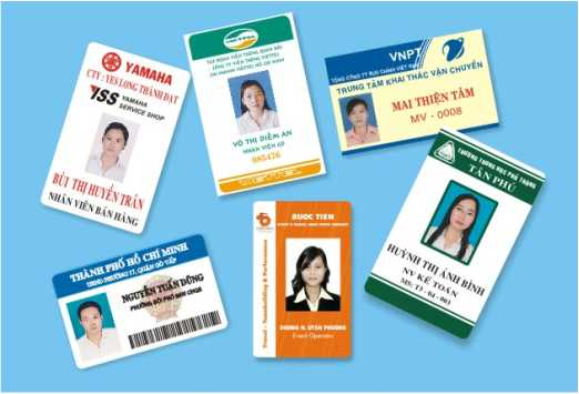 Thẻ nhựa Nhân viên