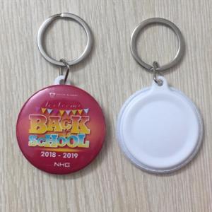 Huy hiệu móc chìa khóa 4.4 cm